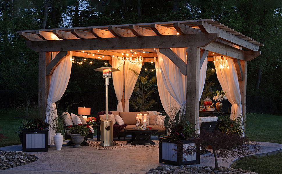 patio heater for outdoor patio
