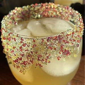 cocktail salt, margarita salt, rimming salt, cocktail decorating, bar supplies