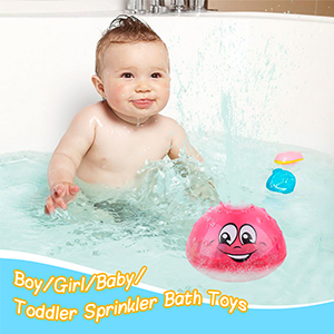 Automatic Induction Sprinkler Bath Toy