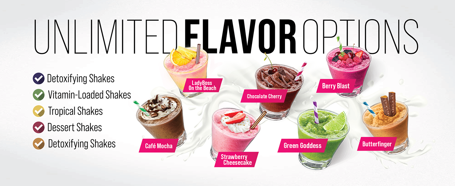 Unlimited flavor options with LEAN