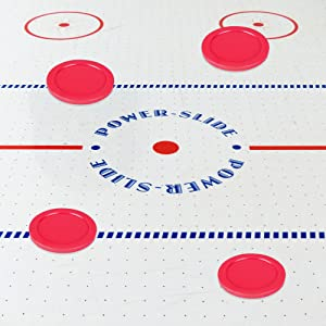 Home Air Hockey Pucks, Replacement Pucks for Game Tables Equipment, Light Weight Air Hockey Pushers