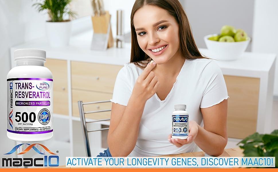 MAAC10 Trans Resveratrol