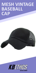MESH VINTAGE BASEBALL CAP