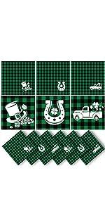 St. Patrick's Day Cloth Napkins