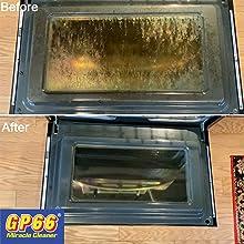 oven door cleaner