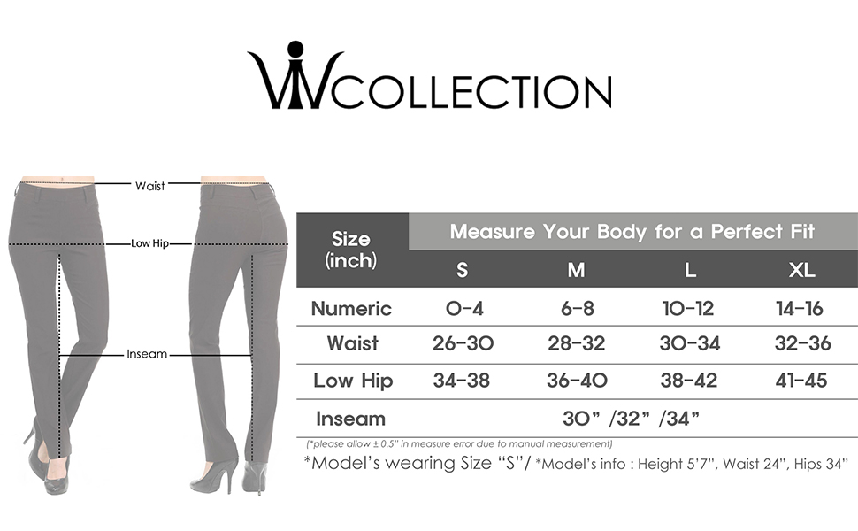 trousers pants work setting professional office stretchy women pull-on comfortable elastic colors