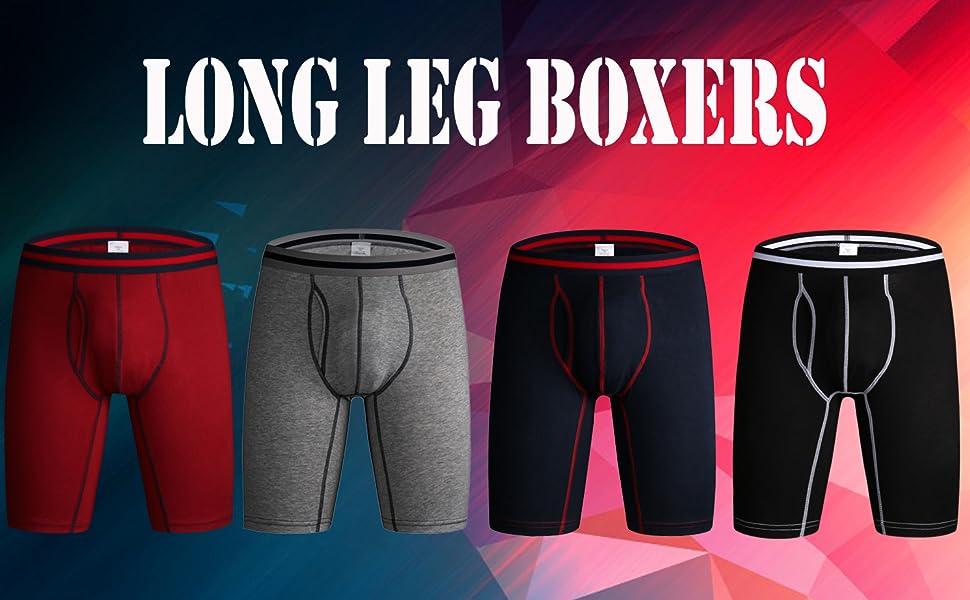 Men's Long Leg Boxers