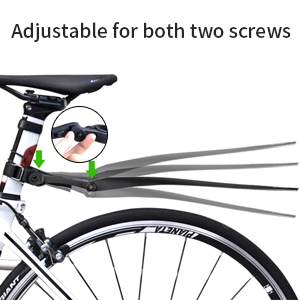 Bicycle Fender Cycling Road Bike Fender Mudguard Removable Parts Bicycle WiB PL