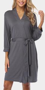 soft short robe