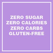 energy shot, energy blend, keto, zero sugar, zero carbs, zero calories, gluten-free