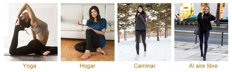 Leggings Largas de Invierno para Mujer