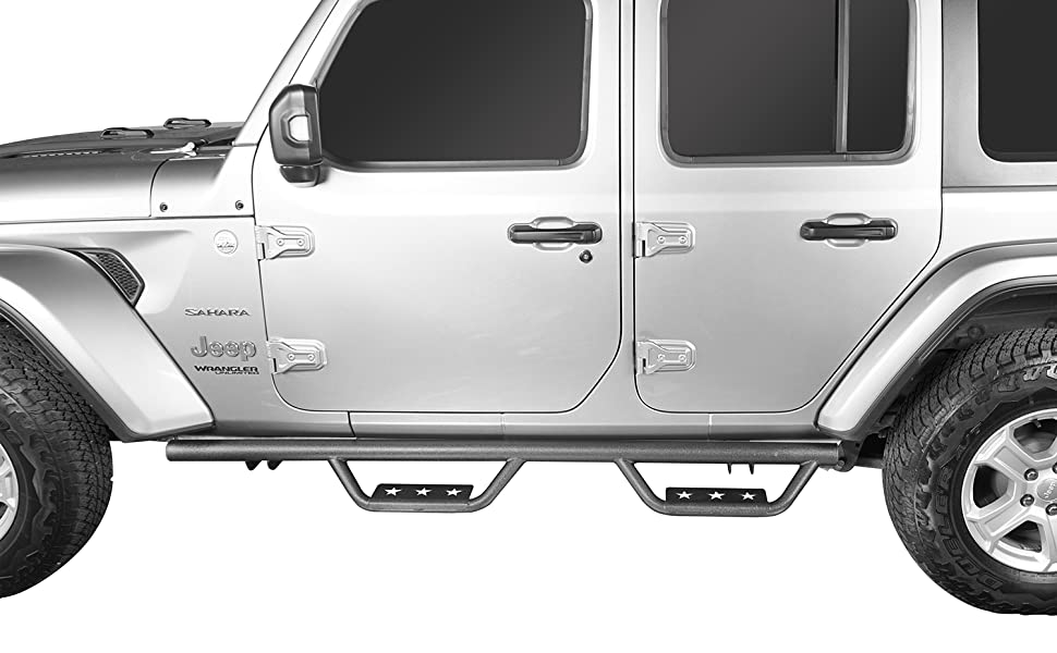 Drop Side Steps Bars Running Boards For Jeep Jl 4 Door Offgrid Store