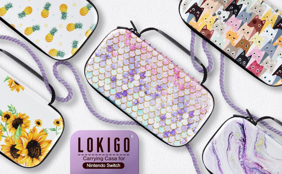 Lokigo Nintendo Switch Case