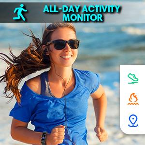 activity tracker watch for women men heart rate monitor watch