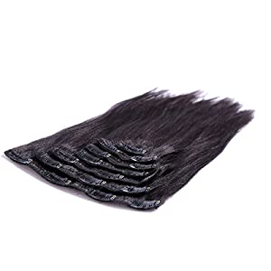 Curly Clip in human hair extension