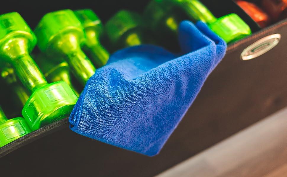 Spa Towel, Sport Towel, Workout, Yoga, Gym Towel, The Rag Company, TRC