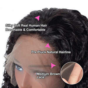 water wave wigs lace front wig human hair water wave human hair wigs