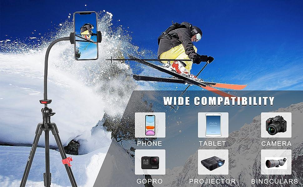 Tripod for iphone,travel tripod,light tripod,phone tripod