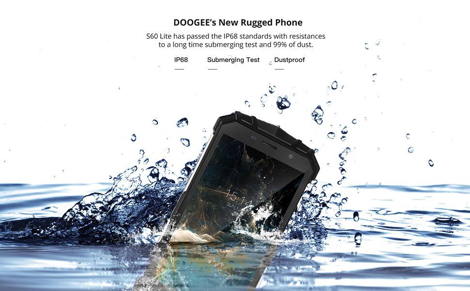 WATERPROOF CELL PHONE