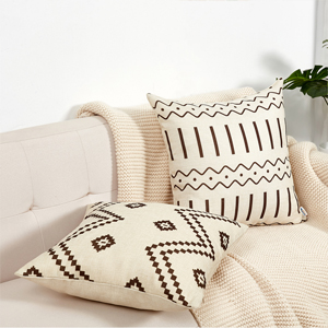 pillow covers 18x18 A