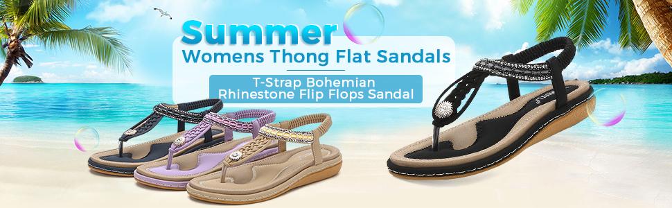 Women's Bohemia Flip Flops