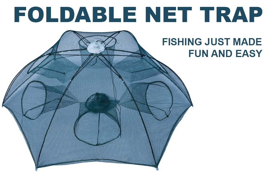 Hot Super Crab Crawdad Shrimp Fish Minnow Fishing Bait Trap Cast Net Cage S/&KMFS