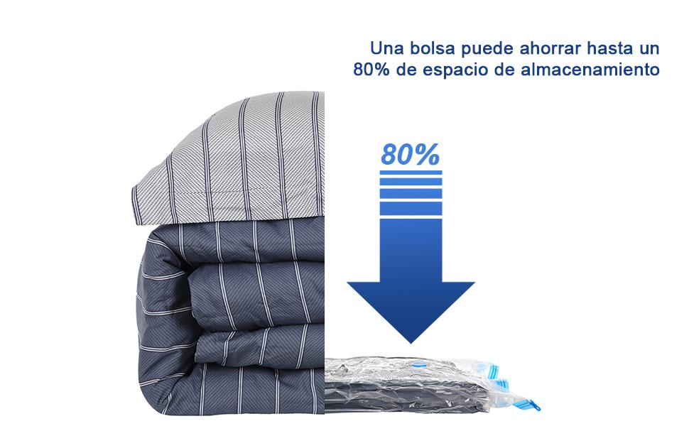 Gfone Bolso de almacenamiento de ropa de edred/ón con cierre a prueba de polvo a prueba de humedad duradero Almacenamiento y organizaci/ón