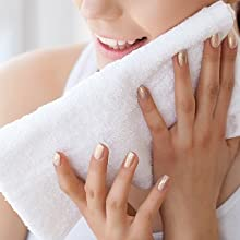 towels n more original hair drying towels 100% cotton gym towel salon towels basic hand towels white