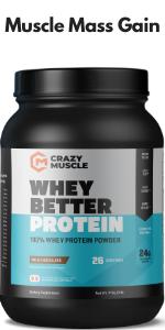Whey Protein Isolate Powder + HICA (Milk Chocolate Shake)