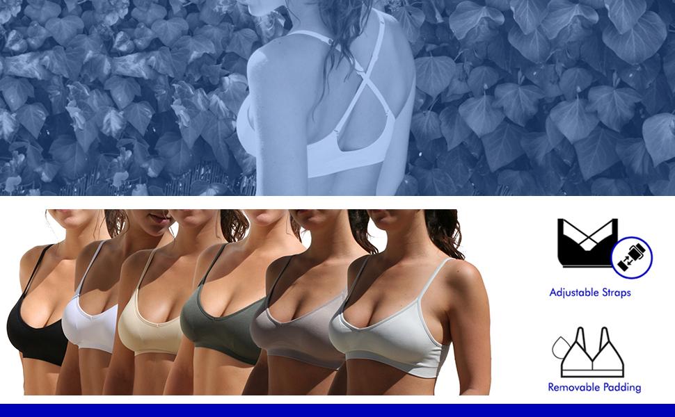 bra bras bralette comfortable sexy womans women padding padded everyday basic