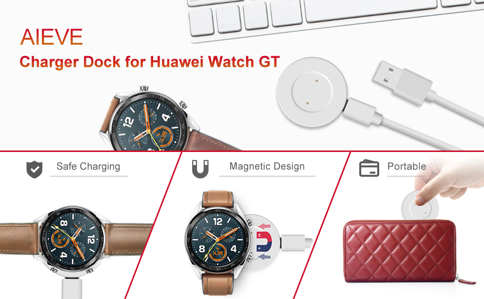 AIEVE Charger for Huawei Watch GT