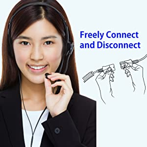 Benifit Quick Disconnect Cord
