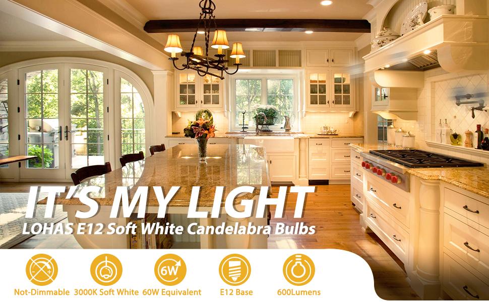 6w led candelabra base bulb ceiling fan light bulb