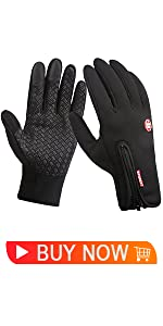 Tina Maud Winter Knit Gloves Touchscreen Warm Thermal Soft Wool Lining Elastic Cuff Texting Anti-Slip Thick Touch Screen Glove for Men and Women Unisex