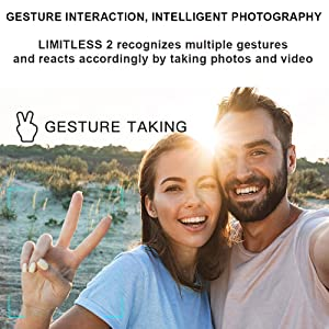 Drone Gesture photo and Gesture Video feature