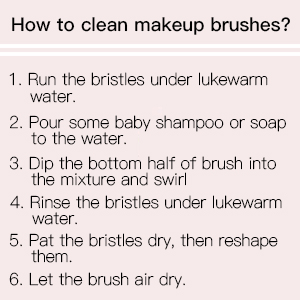 CLEAR BRUSHES