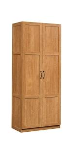 Wardrobe Armoire in Highland Oak