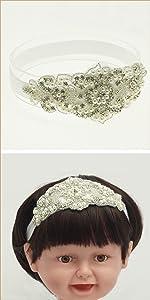 Rhinestone sparkle blingheadband