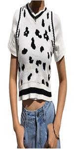 White Milk Sweater Vest