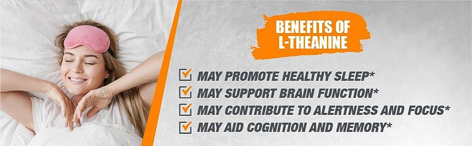 l-theanine powder, sleep supplements, brain supplements, amino acid supplements