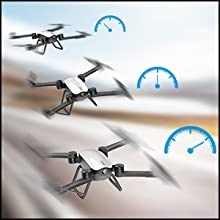 Flashandfocus.com b8f63fc5-0a32-43a4-99a8-b99353f91f55.__CR0,0,300,300_PT0_SX220_V1___ SIMREX X900 Drone Optical Flow Positioning RC Quadcopter with 1080P HD Camera, Altitude Hold Headless Mode, Foldable FPV…