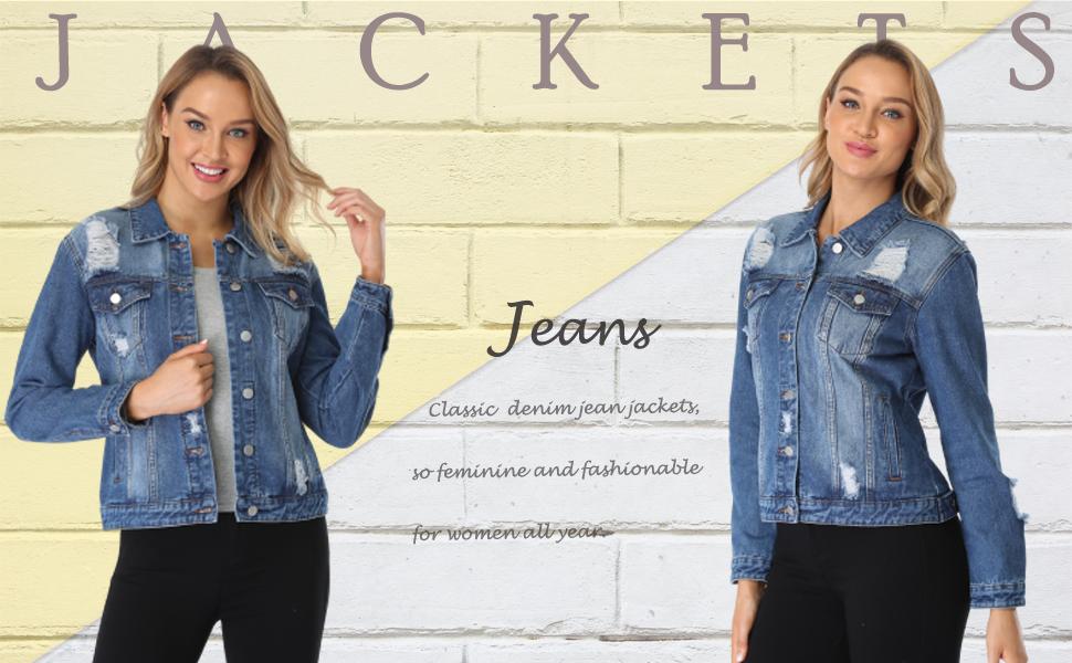 jean denim trucker jackets