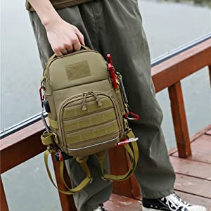 Fishing backpack fishing tackle bag