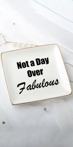 not a day over fabulous gifts for women lady female friend birthday christmas 50th 60th 70th 80th