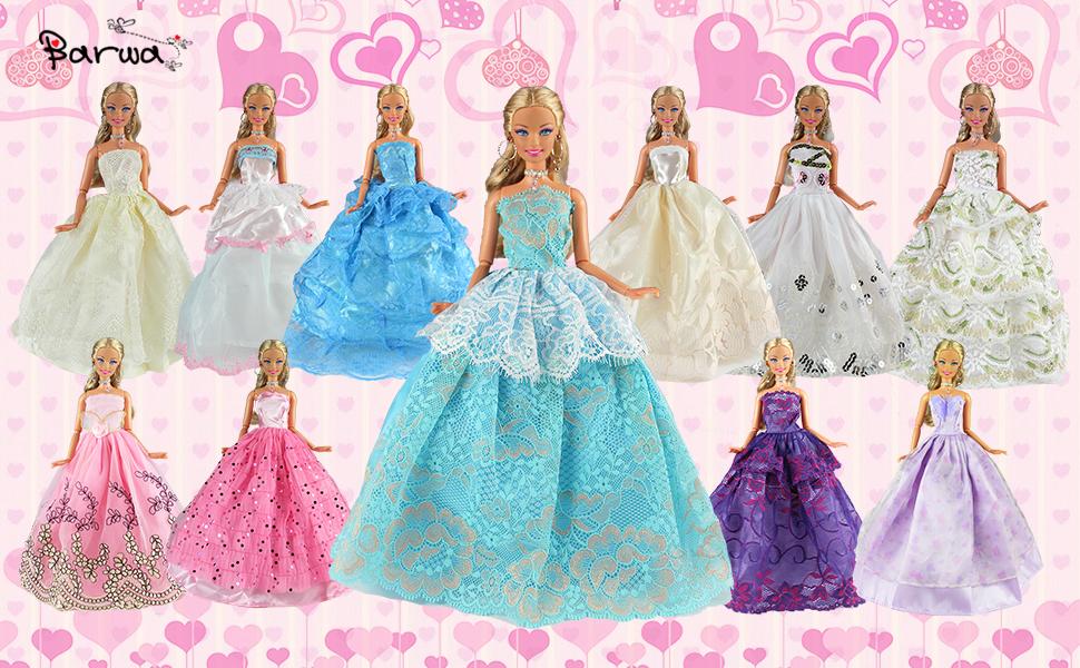 BARBIE DRESSES
