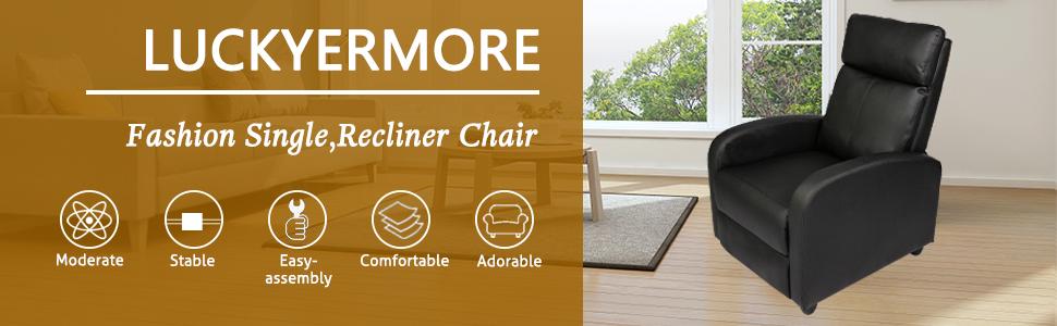 fashion single recliner chair
