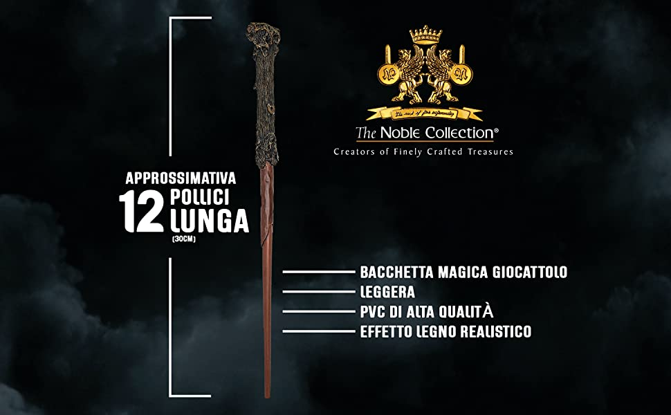 The Noble Collection Harry Potter Wand & Bookmark Size