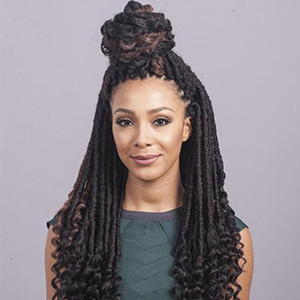Goddess Faux Locs Crochet Braiding Hair, 6 Pack/Lot Twist