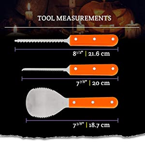 Pumpkin Carving Tool Kit