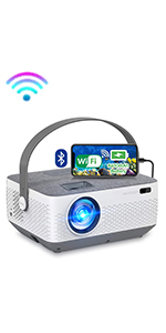 portable projector with battery